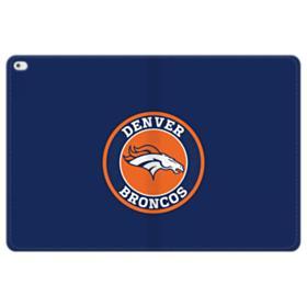 Denver Broncos Logo Round iPad Pro 12.9 (2015) Folio Leather Case