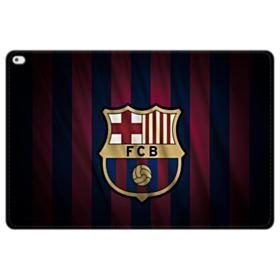 FC Barcelona Logo Fabric iPad Pro 12.9 (2015) Folio Leather Case