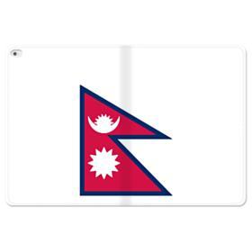 Flag of Nepal iPad Pro 12.9 (2015) Folio Leather Case