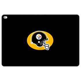 Pittsburgh Steelers Team Logo Helmet iPad Pro 12.9 (2015) Folio Leather Case