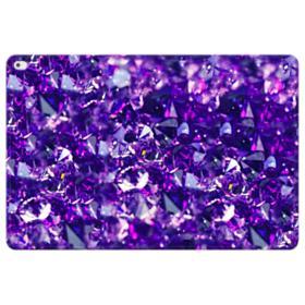 Purple Diamond Glitter iPad Pro 12.9 (2015) Folio Leather Case