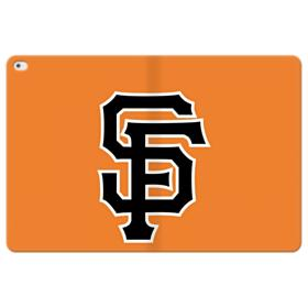 San Francisco Giants Team Logo SF Interlocking iPad Pro 12.9 (2015) Folio Leather Case