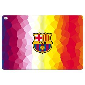 FC Barcelona Flaming Polygon iPad Pro 12.9 (2015) Folio Leather Case