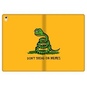 Pepe the frog don't tread on memes iPad Pro 9.7 (2016) Folio Case