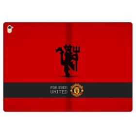 Manchester United Team Logo Red Devil Banner iPad Pro 9.7 (2016) Folio Case