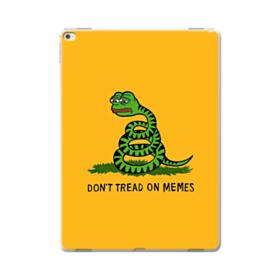 Pepe the frog don't tread on memes iPad Pro 12.9 (2015) Case