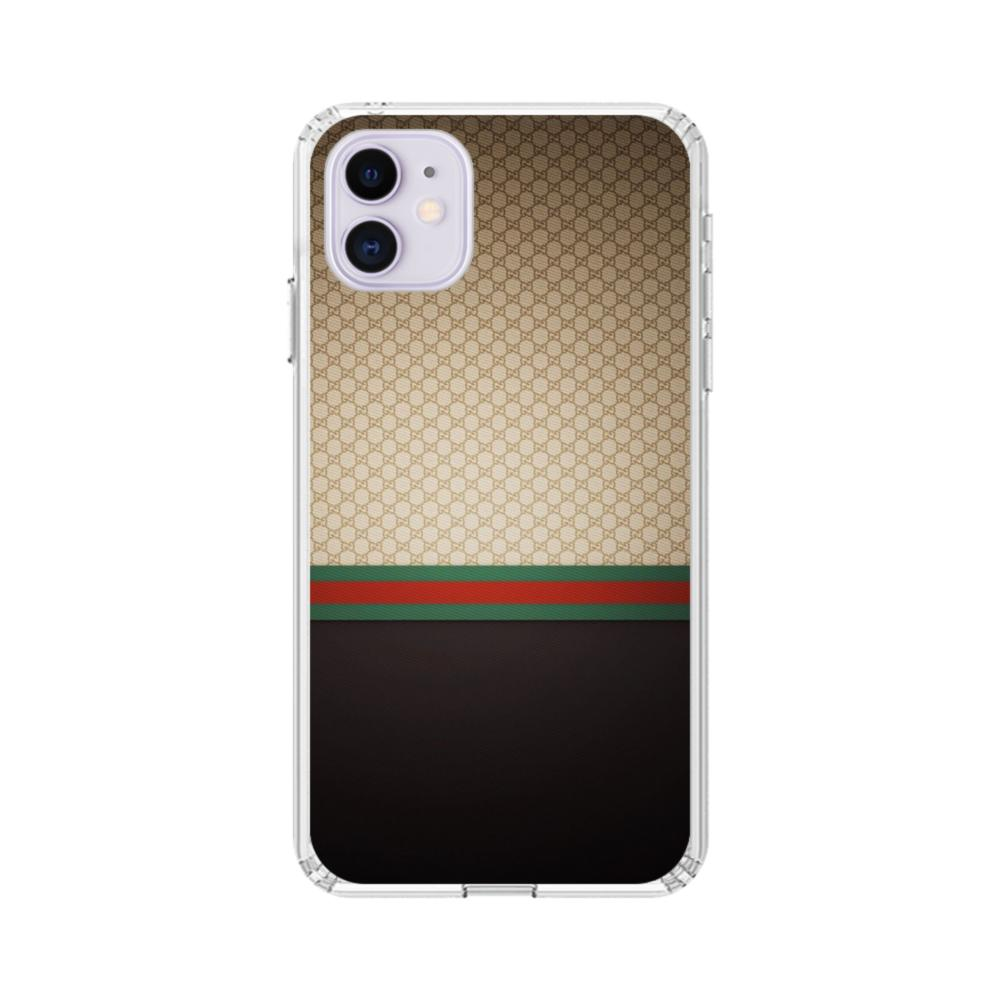 Gucci Pattern iPhone 11 Clear Case
