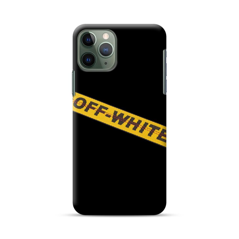 Off White Lining Iphone 11 Pro Case