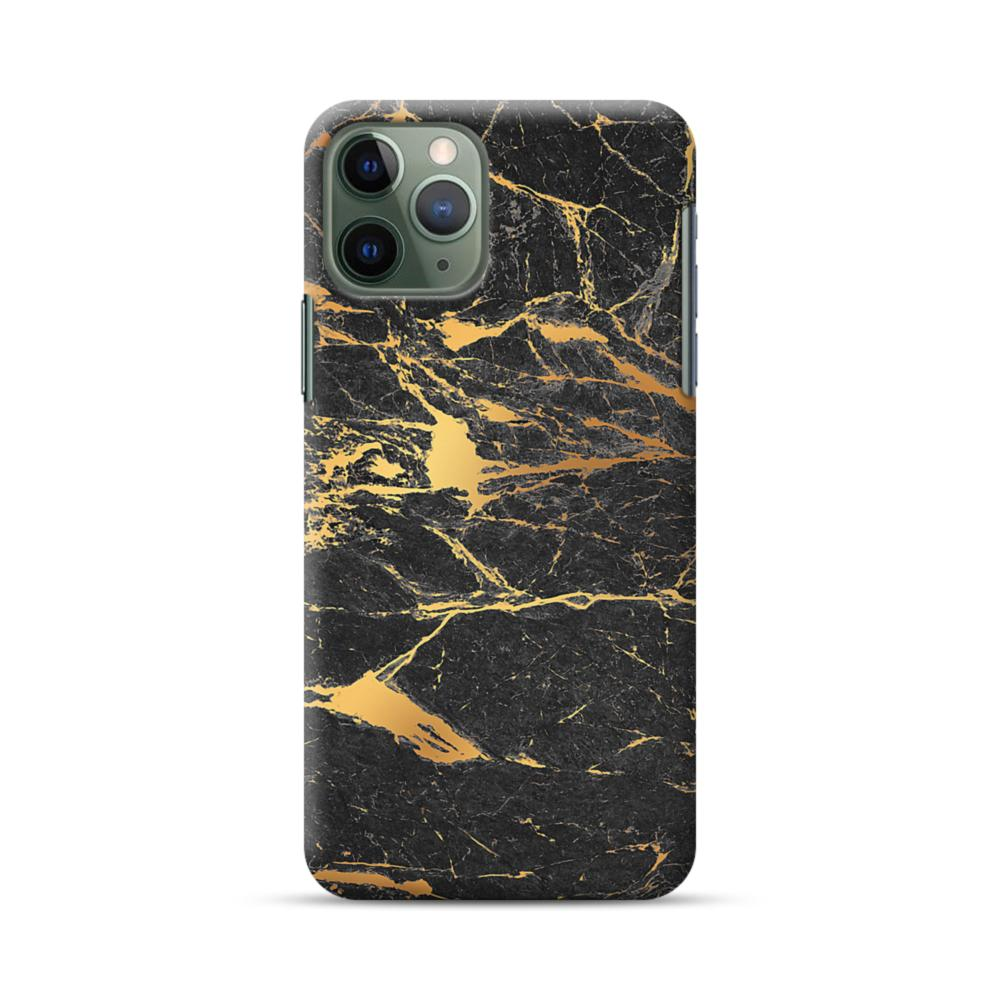 Black and Gold Marble iphone 11 case