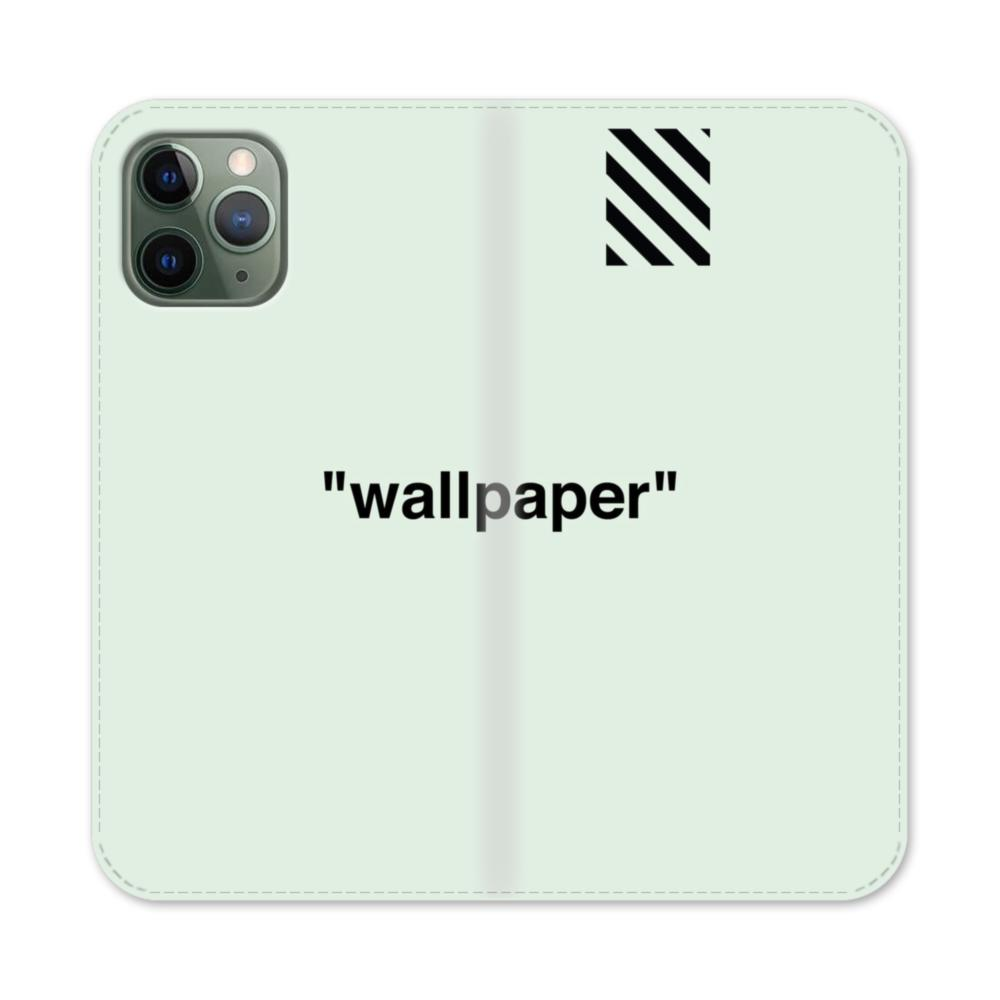 Wallpaper Stripes Minimalism Iphone 11 Pro Flip Case Caseformula