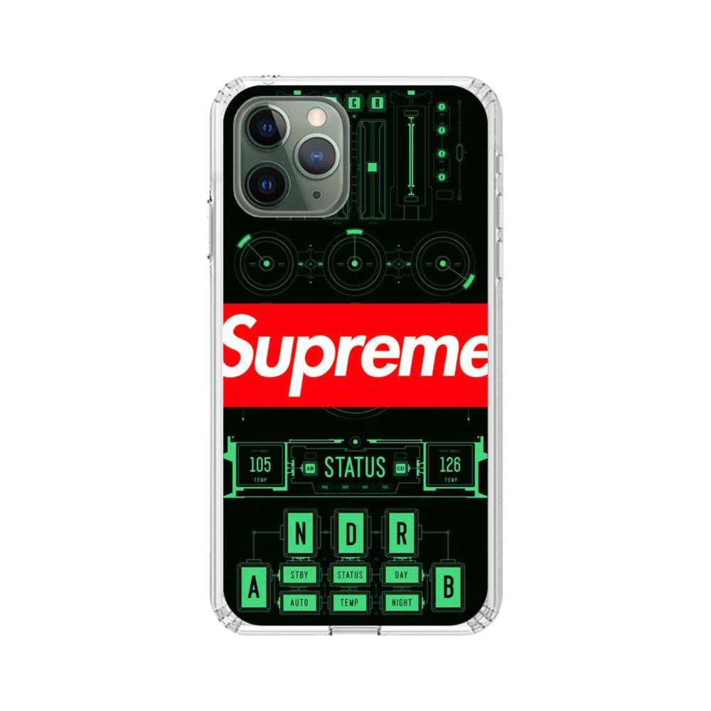 Supreme Panel iPhone 11 Pro Max Clear Case