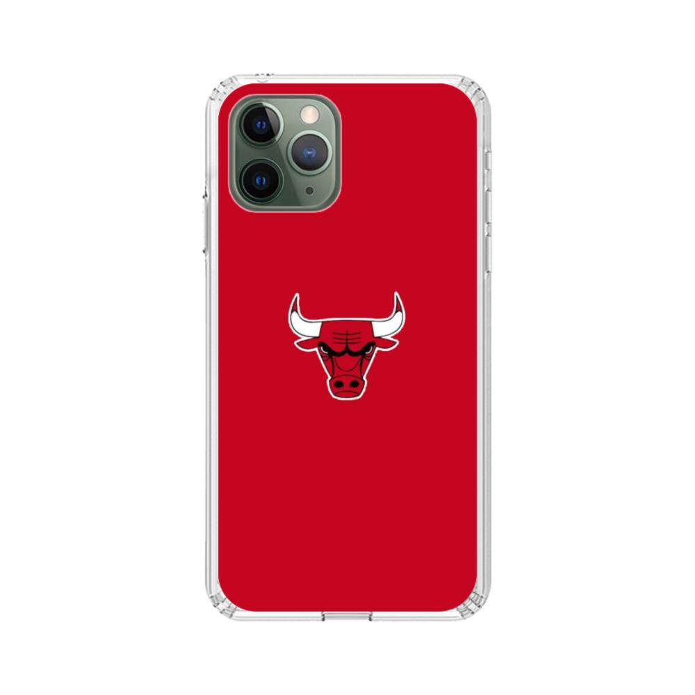 Chicago Bulls Logo iPhone 11 Pro Max Clear Case