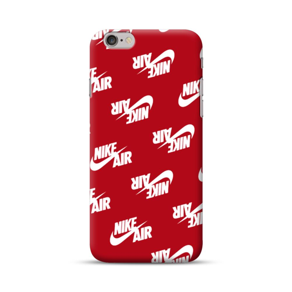 sports shoes d7f00 5d8e1 Nike Air Red iPhone 6S/6 Case