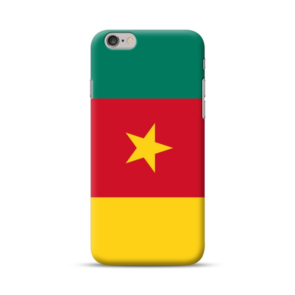 ee5bf78704650 Flag of Cameroon iPhone 6S 6 Case