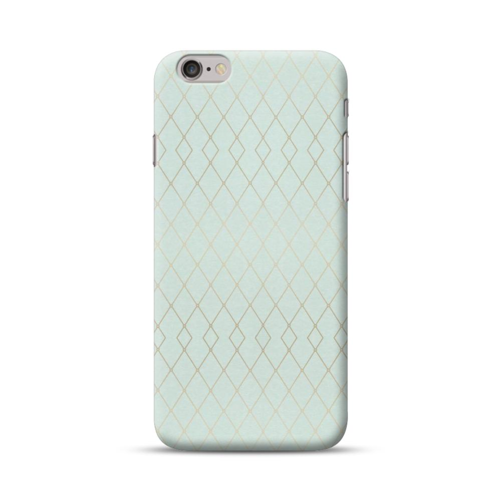 detailed look f169d d4be3 Geometric Polyline Pattern in Mint Green iPhone 6S/6 Case