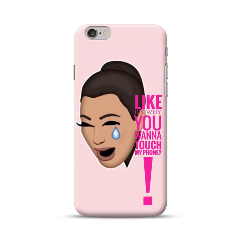 promo code 0910d 8a416 Crying Kim emoji kimoji meme iPhone 6S/6 Case