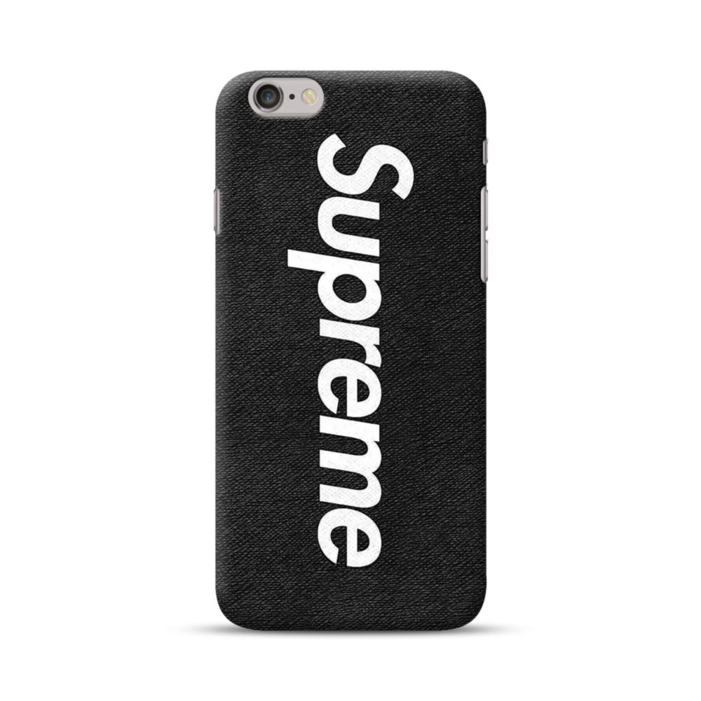 Supreme Black IPhone 6S/6 Case | CaseFormula