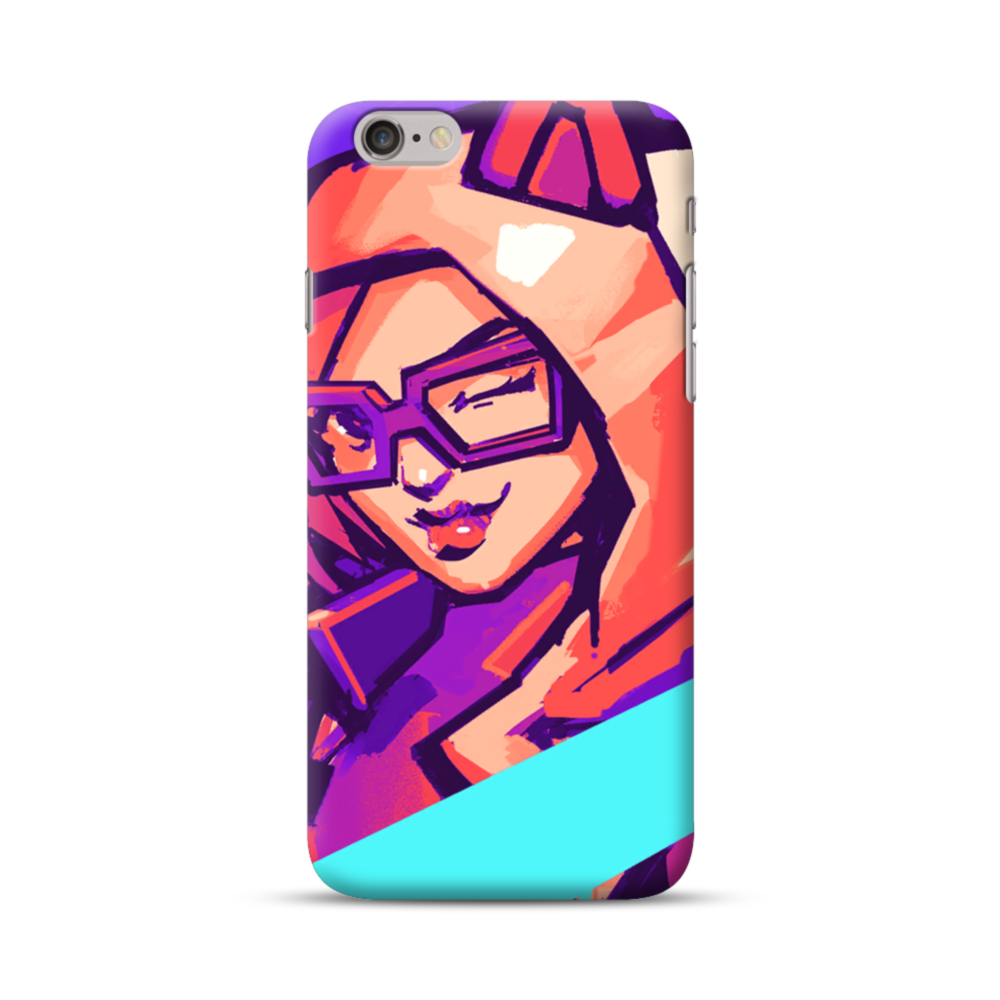 newest cfbc5 a45da Fortnite Lynx Locker iPhone 6S/6 Case