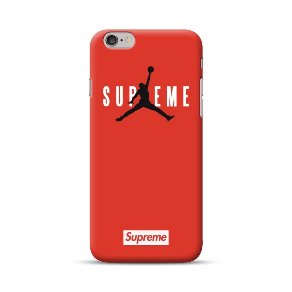 promo code 8cb33 7b548 Supreme x Jordan iPhone 6S/6 Case