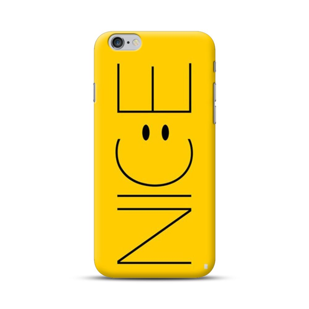 new product ca741 ef220 Cute Funny Yellow Nice iPhone 6S/6 Plus Case