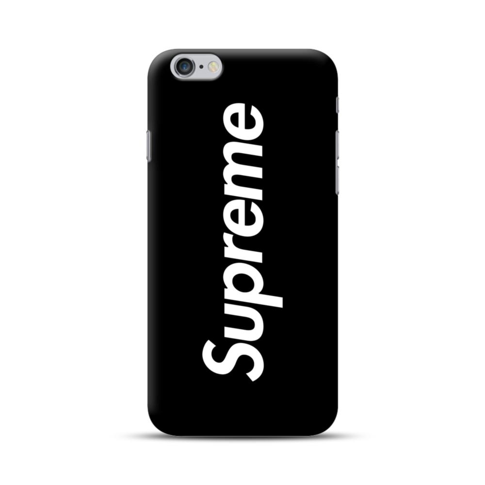 outlet store 4a8b2 8cd08 Supreme Black Cover iPhone 6S/6 Plus Case