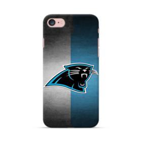 Carolina Panthers Logo Grunge Mesh iPhone 7 Case