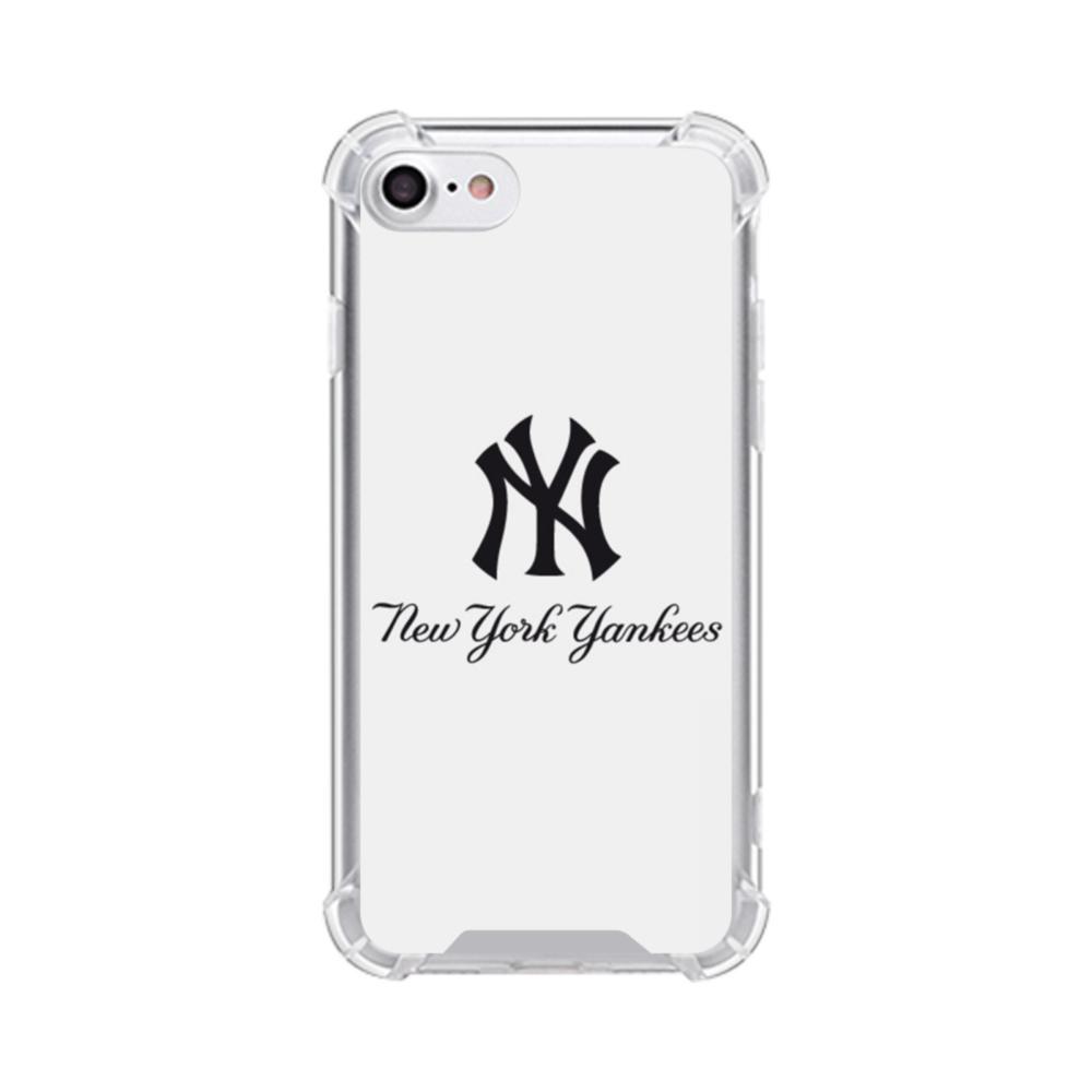 buy popular 22dd1 bf071 New York Yankees Script Font iPhone 7 Clear Case