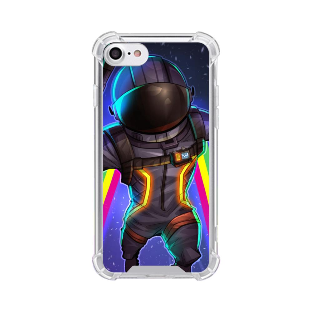 hot sale online f2a0d a5d15 Fortnite Dark Voyager iPhone 7 Clear Case