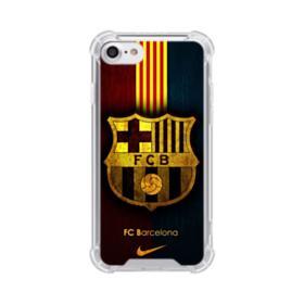 FC Barcelona Logo Grunge iPhone 7 Clear Case