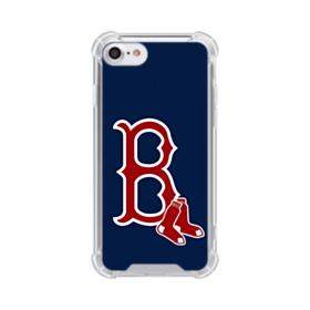 Boston Red Sox Logo B iPhone 7 Clear Case