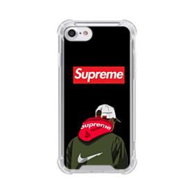 Supreme x Nike Hoodie iPhone 7 Clear Case