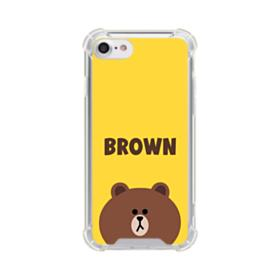 Line Friends Brown iPhone 7 Clear Case