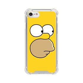 The Simpsons Face iPhone 7 Clear Case