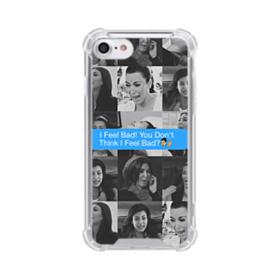 Funniest Kim Kardashian meme iPhone 7 Clear Case