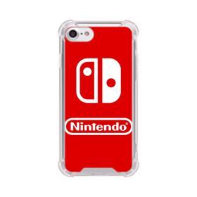 Nintendo Switch Logo Design iPhone 7 Clear Case