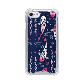 Fish Illustration iPhone 8 Clear Case