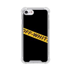 Off White Lining iPhone 8 Clear Case