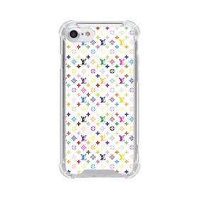 Louis Vuitton Multicolor Light iPhone 8 Clear Case