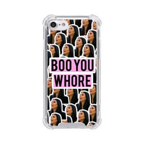Classic Kim Kardshian meme  iPhone 8 Clear Case