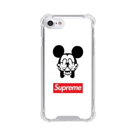 Disney Mickey Mouse x Supreme iPhone 8 Clear Case