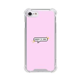 Daddy's Girl Quote iPhone 8 Clear Case