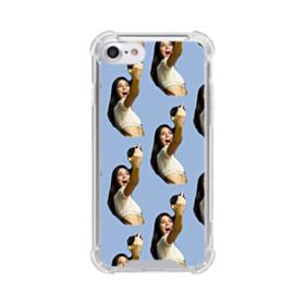 Kendall Jenner funny  iPhone 8 Clear Case
