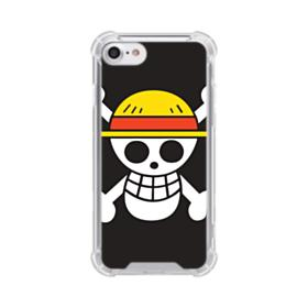 One Piece iPhone 8 Clear Case