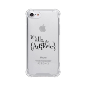 It's All in the Attitude Quotes iPhone 8 Clear Case