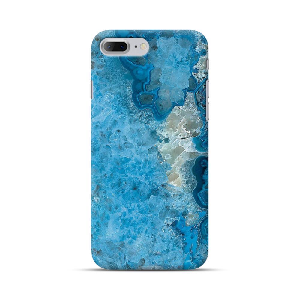 wholesale dealer b663d f59f1 Peacock Blue Marble iPhone 7 Plus Case