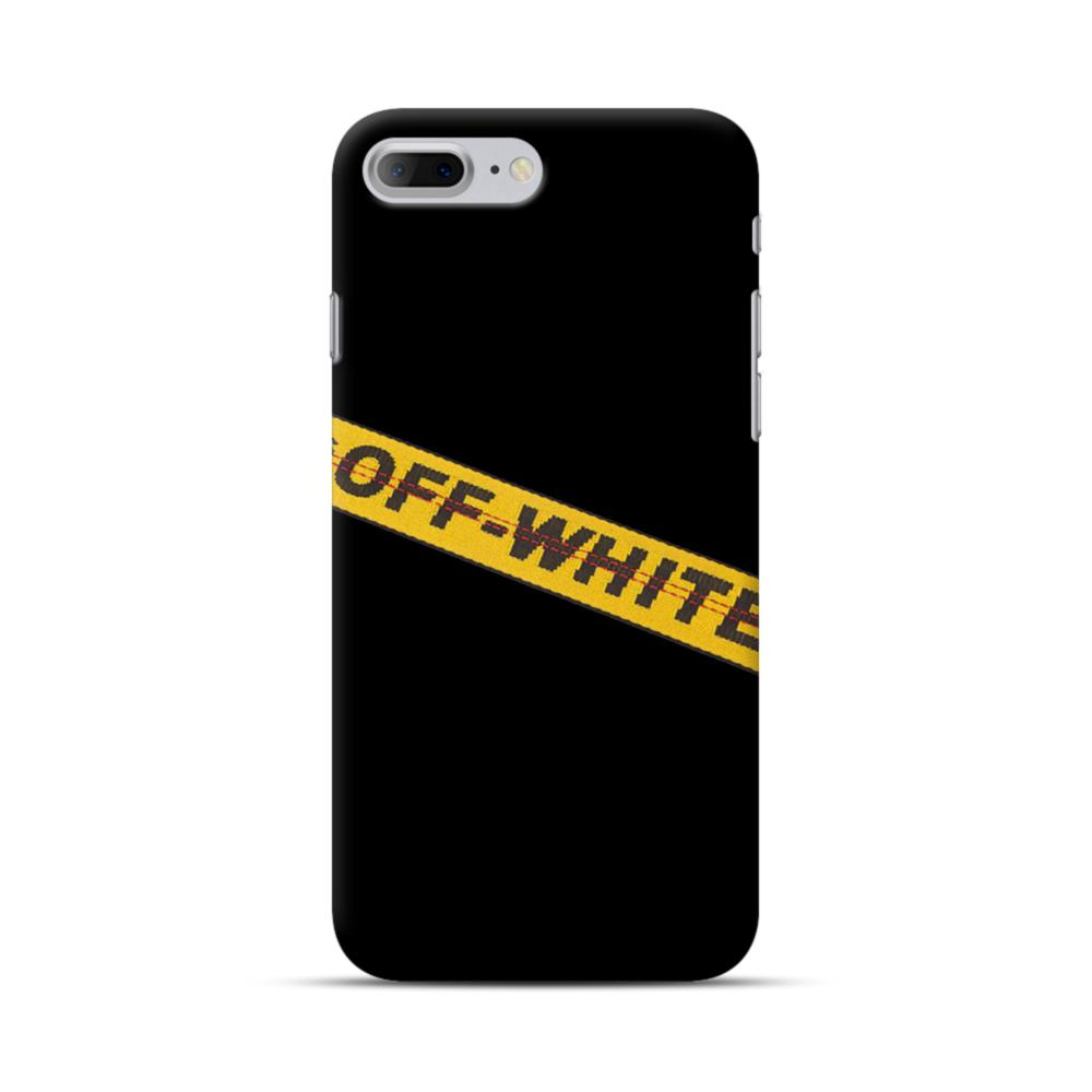newest 9245a ed0b6 Off White Lining iPhone 7 Plus Case