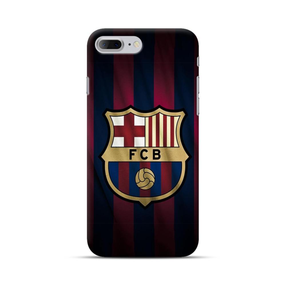 Fc Barcelona Logo Fabric Iphone 7 Plus Case Caseformula