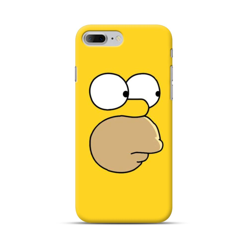 cheaper c27f1 541a4 The Simpsons Face iPhone 7 Plus Case