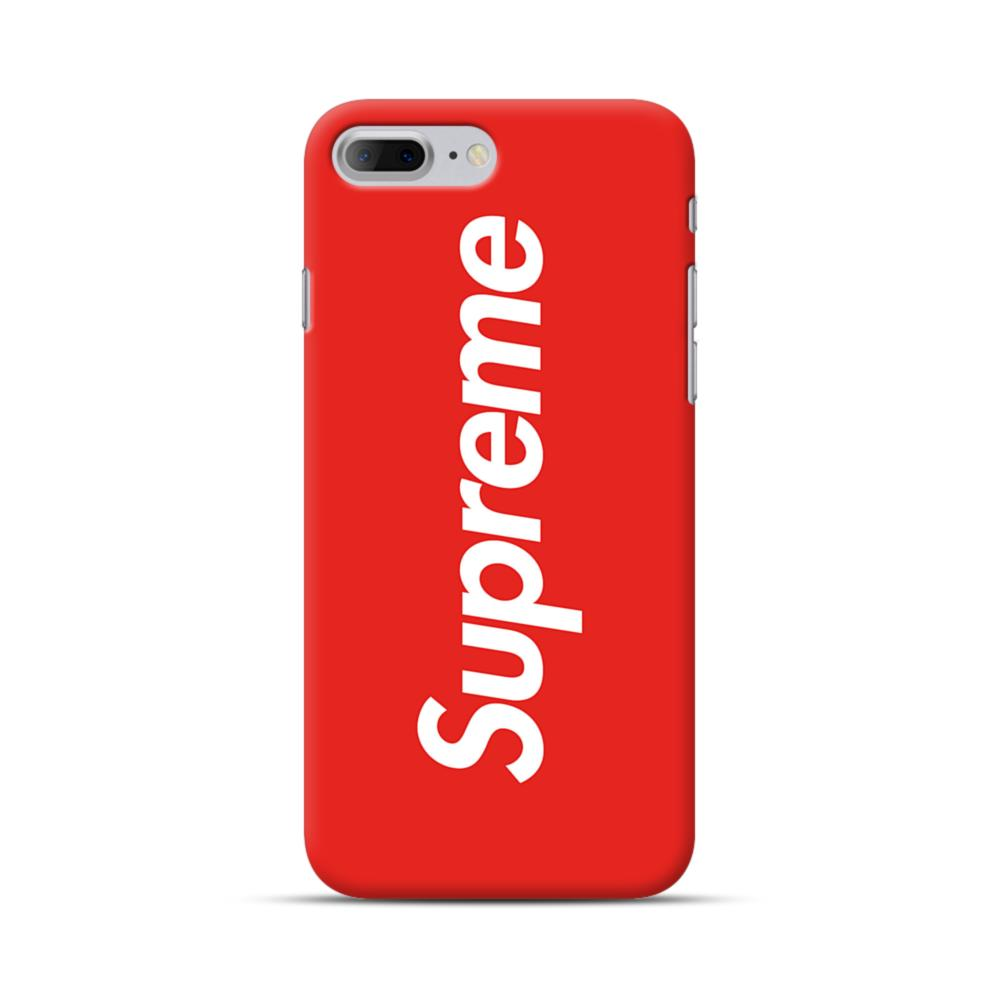 Supreme Red iPhone 7 Plus Case | CaseFormula