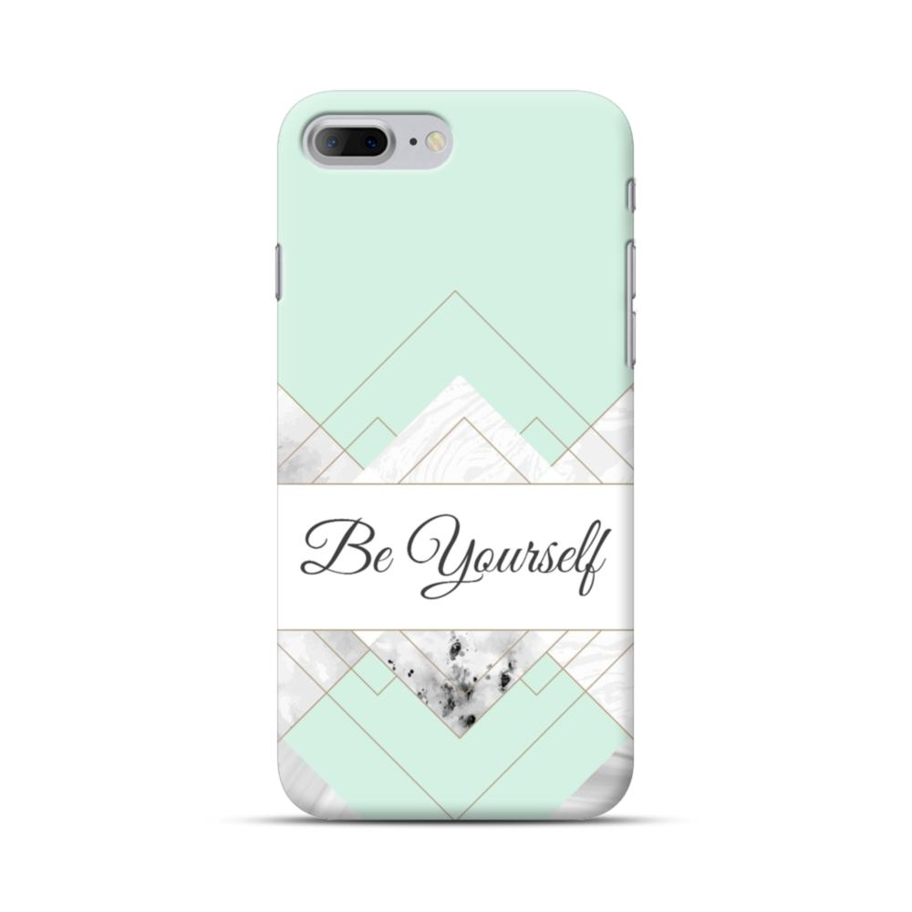 great fit b7bb9 bf661 Be Yourself Tiffany Blue Marble iPhone 7 Plus Case